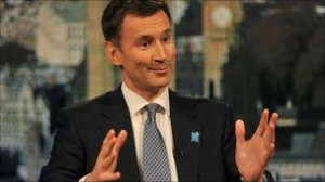 Jeremy Hunt - Not Rhyming Slang Apparently